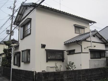 静岡市駿河区 S様邸 外壁塗装リフォーム事例