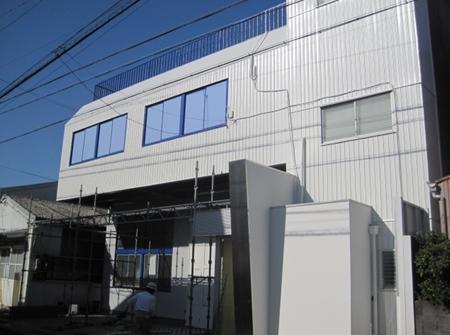 静岡市駿河区 Fビル 外壁塗装リフォーム