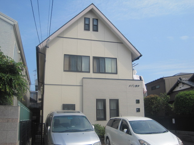 静岡市葵区 アパートM 外壁塗装リフォーム事例