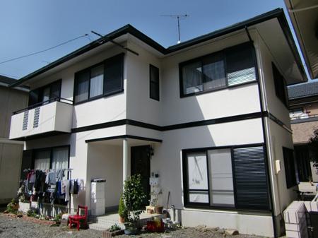 静岡市葵区 外壁・屋根塗装リフォーム事例 Y様邸