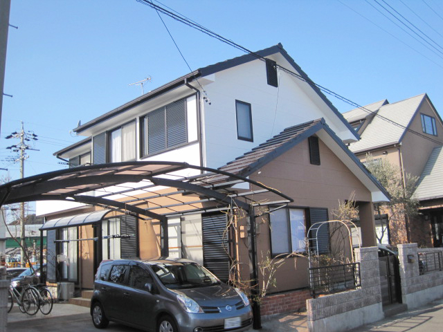 藤枝市 M様邸 外壁・屋根塗装リフォーム事例