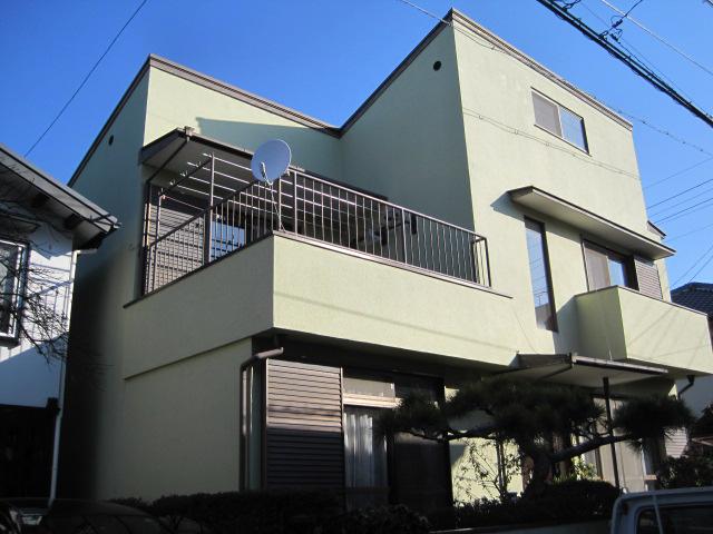 清水区 O様邸 外壁・屋根塗装リフォーム事例