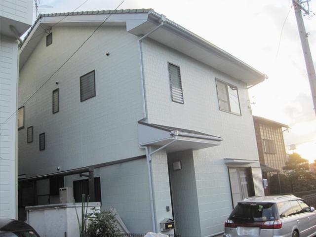 静岡市清水区 S様邸 外壁塗装リフォーム事例