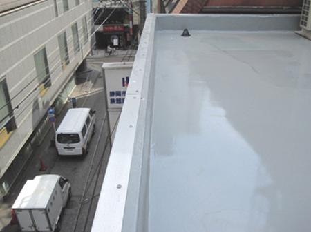 静岡市葵区 Sビル 屋根防水塗装リフォーム事例