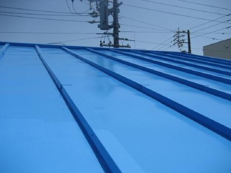 静岡市駿河区 U様邸 トタン屋根塗装事例