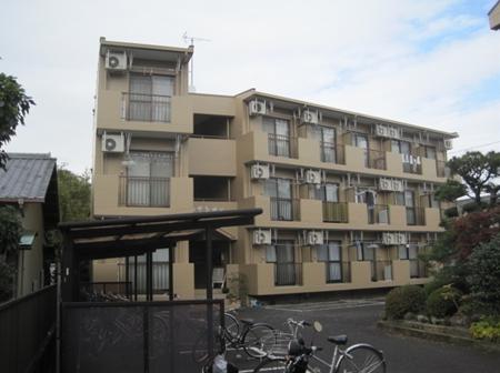 静岡市駿河区 Kアパート 外壁塗装・ベランダ塗装リフォーム事例