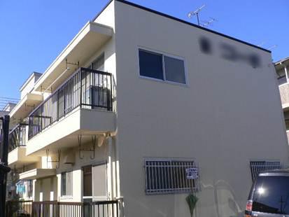 静岡市駿河区 Iコーポ 外壁屋根塗装リフォーム事例