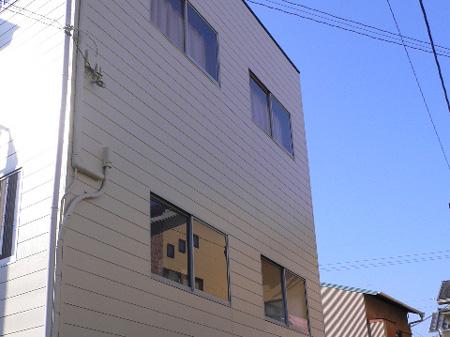 静岡市駿河区 K事務所 階段外壁屋根塗装リフォーム事例
