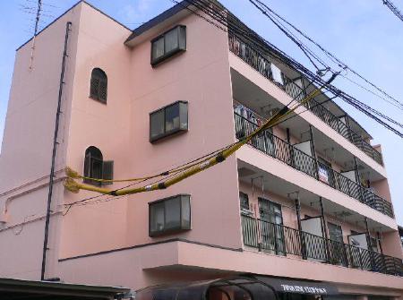 静岡市駿河区  外壁塗装リフォーム事例 ハイツS
