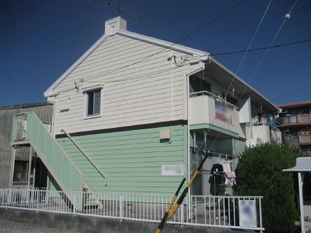 静岡市駿河区 外壁・屋根塗装リフォーム Oハイツ事例
