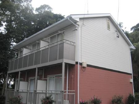静岡市駿河区 外壁・屋根塗装リフォーム アパートK事例