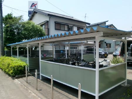 静岡市駿河区 付帯部塗装改修工事 Kマンション