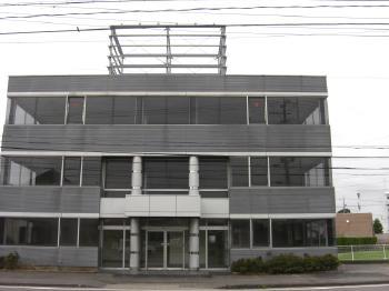 吉田町 看板撤去・鉄骨塗装事例 S予備校