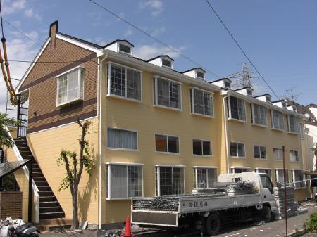 静岡市清水区 外壁・屋根塗装リフォーム事例 Aマンション