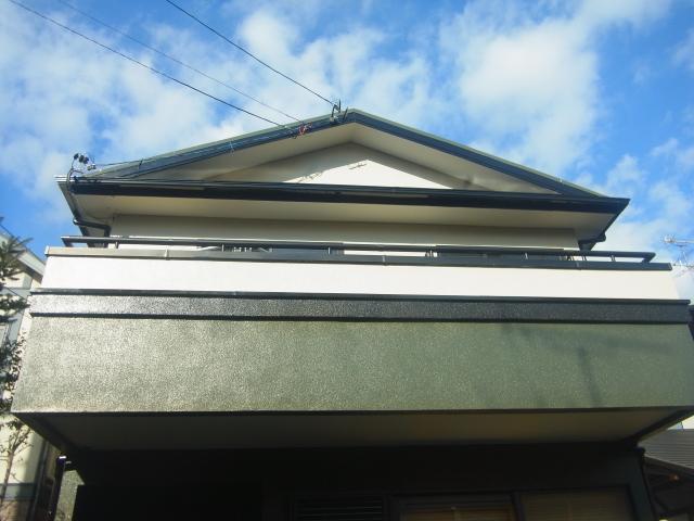 静岡市葵区 M様邸 屋根塗装・外壁塗装リフォーム事例