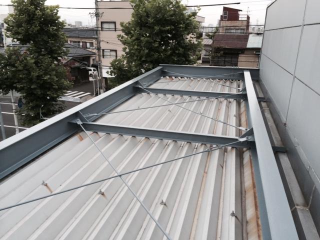 静岡市葵区 K社 鉄骨塗装リフォーム事例