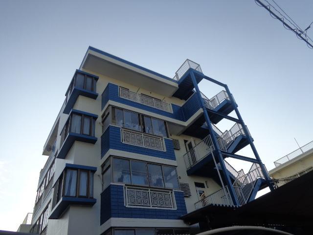 静岡市葵区 Cマンション 外壁・屋上防水塗装リフォーム事例
