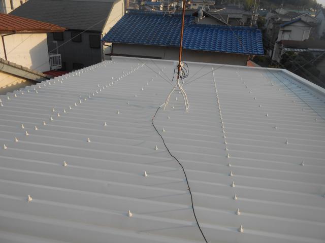静岡市清水区 Sハイツ 屋根・階段塗装リフォーム事例