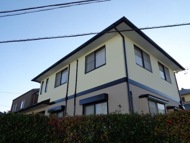 牧之原市 I様邸 外壁・屋根塗装リフォーム事例