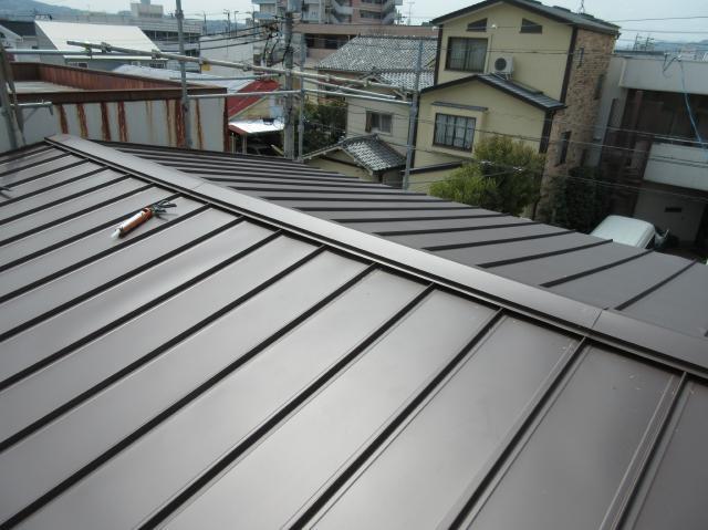 静岡市清水区 O様邸 屋根板金改修リフォーム事例