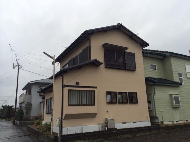 静岡市葵区 B様邸 外壁塗装リフォーム事例