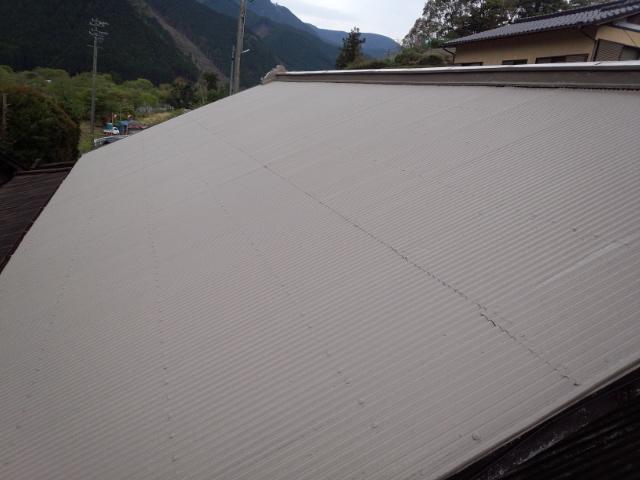 静岡市葵区 U様邸 屋根塗装リフォーム事例
