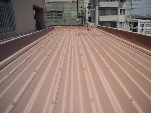 藤枝市 K様邸 屋根塗装リフォーム事例