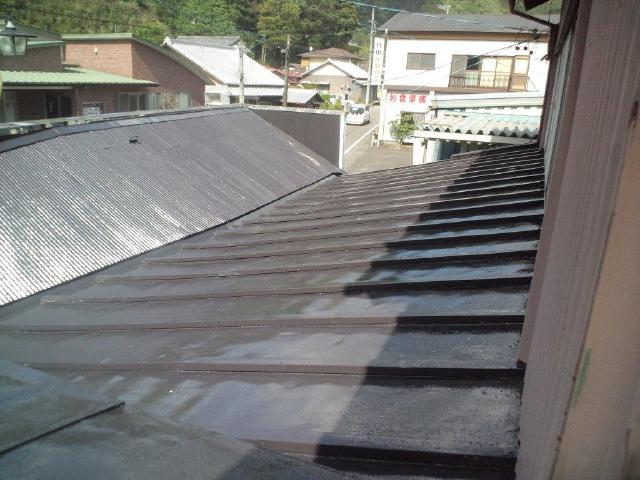 榛原郡川根本町 H様邸 屋根塗装リフォーム事例