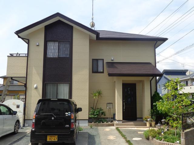 榛原郡吉田町 K様邸 外壁・屋根塗装リフォーム事例