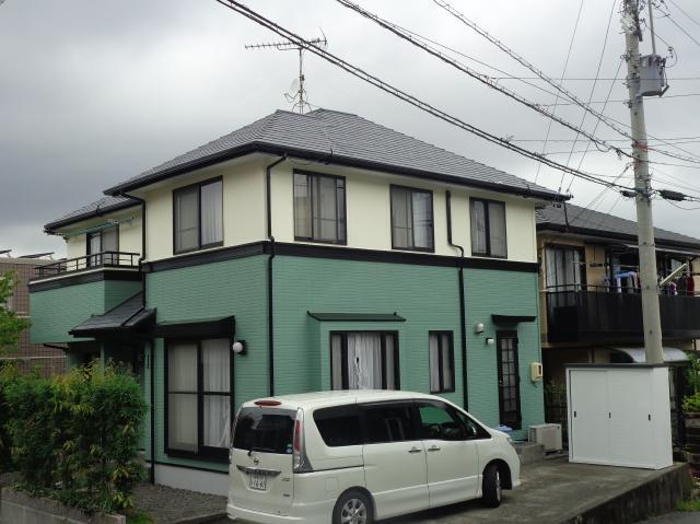 静岡市清水区 U様邸 外壁・屋根塗装リフォーム事例