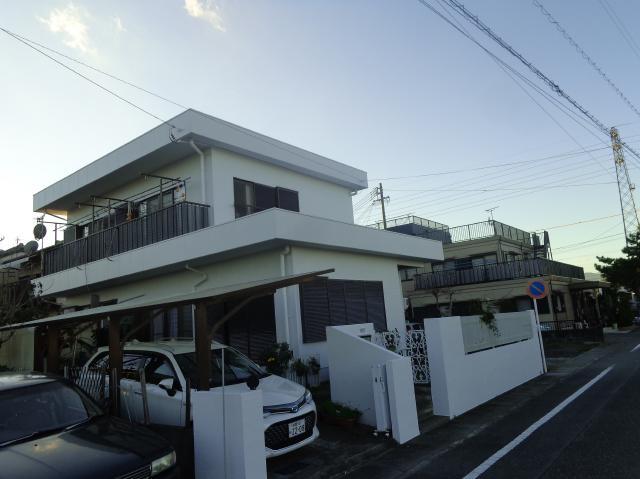 静岡市駿河区 S様邸 外壁・屋上塗装リフォーム事例