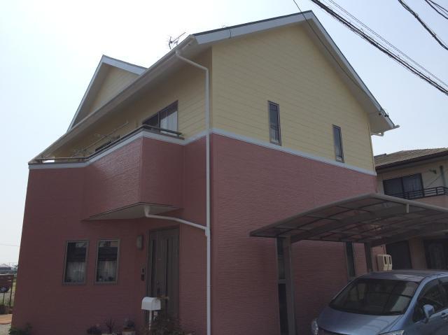 榛原郡吉田町 M様邸 外壁・屋根塗装リフォーム事例