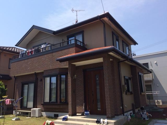 焼津市 I様邸 外壁・屋根塗装リフォーム事例