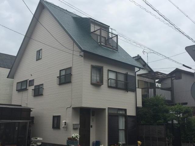 静岡市葵区 I様邸 外壁・屋根塗装リフォーム事例