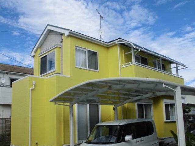 静岡市清水区 W様邸 外壁・屋根塗装リフォーム事例