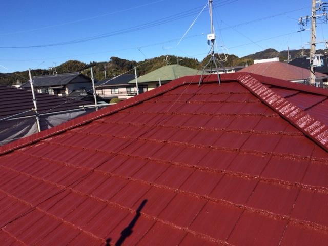 藤枝市 H様邸 屋根塗装リフォーム事例
