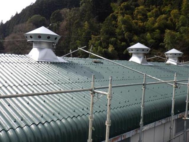 静岡市葵区 M様工場 屋根塗装リフォーム事例