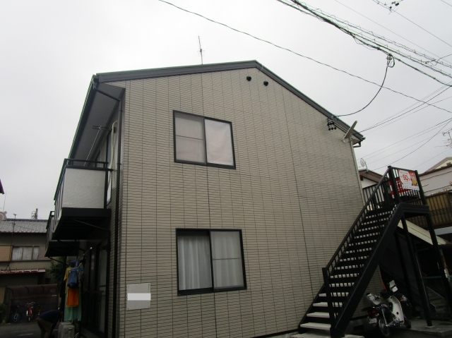 静岡市駿河区 K様所有アパート 外壁・屋根塗装リフォーム事例