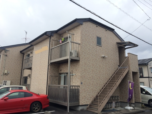 静岡市駿河区 O様所有アパート 外壁・屋根塗装リフォーム事例