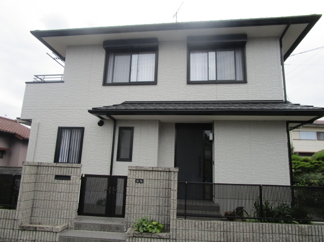 藤枝市 M様邸 外壁塗装リフォーム事例