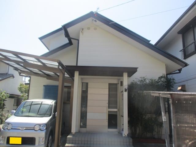 静岡市葵区 N様邸 外壁・屋根塗装リフォーム事例