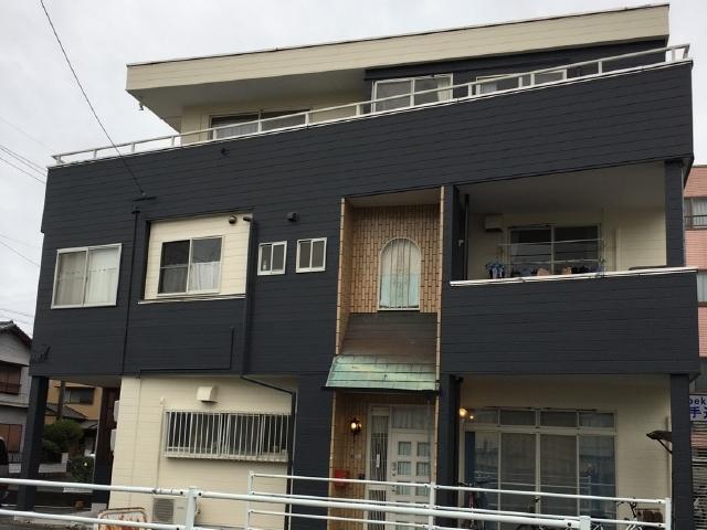 静岡市駿河区 F様邸 外壁・屋上陸屋根塗装リフォーム事例