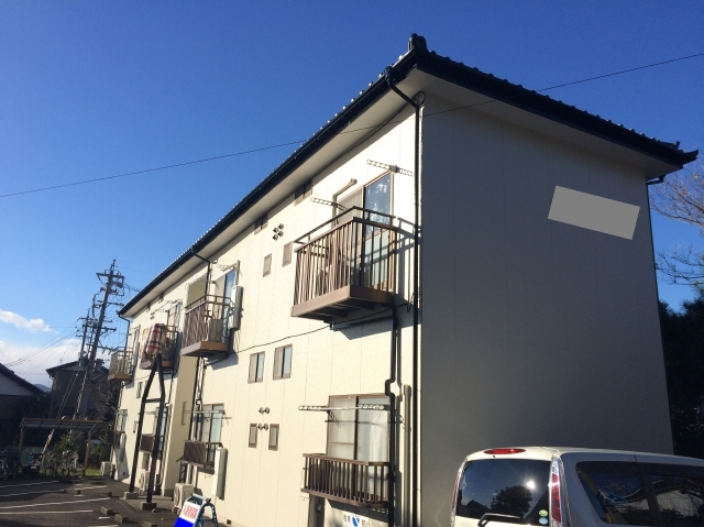 静岡市駿河区 M様所有アパート 外壁塗装リフォーム事例