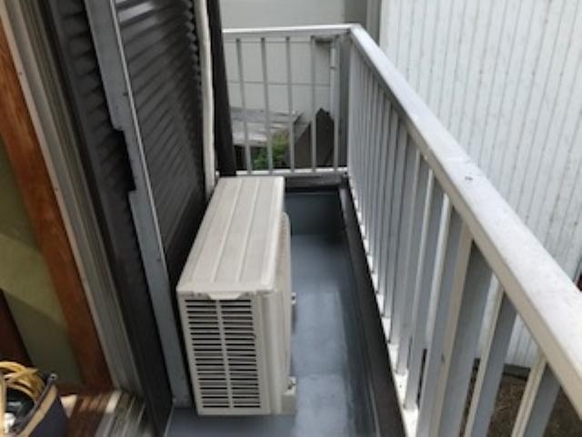 静岡市清水区 Y様邸 ベランダ防水・基礎塗装リフォーム事例