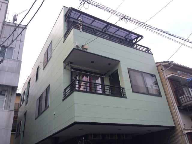 静岡市葵区 N様邸 外壁・屋上陸屋根塗装リフォーム事例