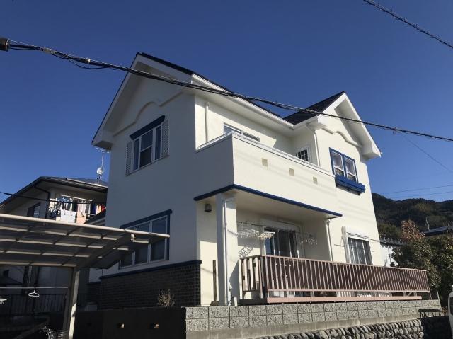 藤枝市 U様邸 外壁・屋根塗装リフォーム事例