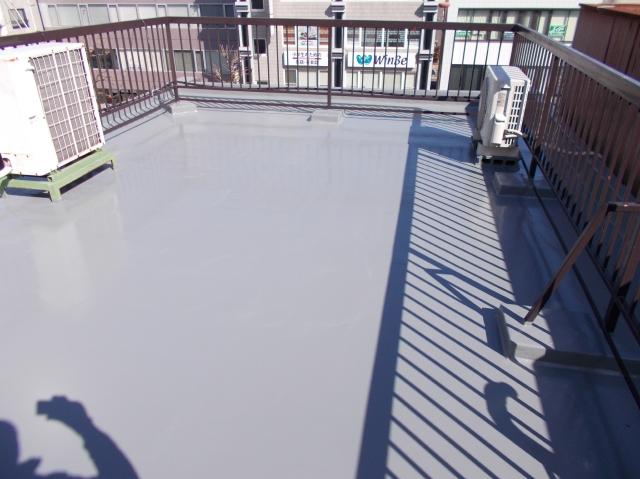静岡市駿河区 D様ビル 屋根・付帯部塗装・屋上防水リフォーム事例
