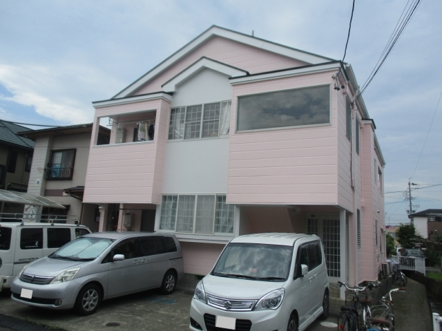 静岡市葵区 T様所有アパート 外壁・屋根塗装リフォーム事例