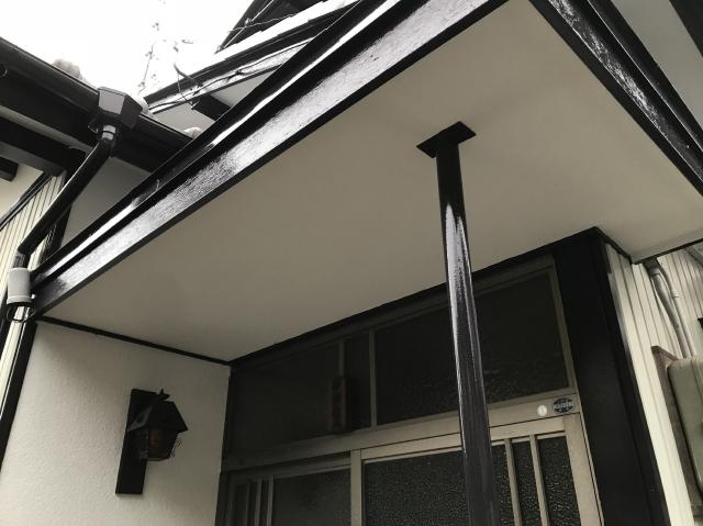 静岡市葵区 N様邸 付帯部塗装リフォーム事例