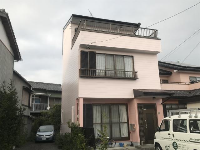 島田市 I様邸 外壁・屋根塗装リフォーム事例